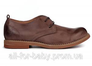 Мужские туфли Timberland Hartwick Plain Toe Oxford Brown Kors размер 42 (115383-42)