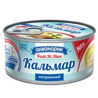 "Кальмар натуральный ""Аквамарин"" 185 г"