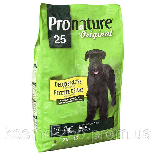 Сухой корм Pronature для взрослых собак всех пород Original DeLuxe (Пронатюр Ориджинал), 15 кг