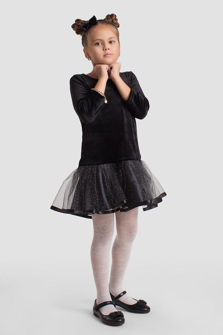 Платье LiLove 2-145 98-104 черный