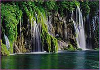 """Фотообои """" водопад""""    Prestige  №18  272*196"""