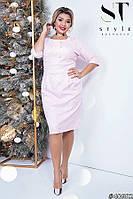 Коктейльное платье с люрексом с 50 по 54 размер, фото 1