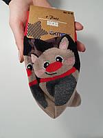 Новогодние носки мужские  зимние махровые внутри хлопок Ekmen 41-46, фото 1