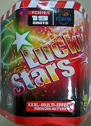 Фейерверк 30 калибр, 19 выстрелов, LUCKY STARS FC3019-1