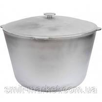 Казан алюминиевый Биол литой с крышкой 6 л (К0600), фото 3