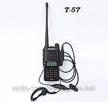 Радиостанция портативная BAOFENG T-57 VHF/UHF IP67