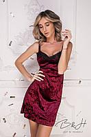 Платье женское бархатное  в расцветках 34979, фото 1