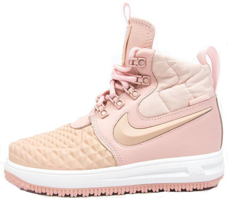 "Женские кроссовки в стиле Nike Lunar Force 1 Duckboot '17 ""Pink"""