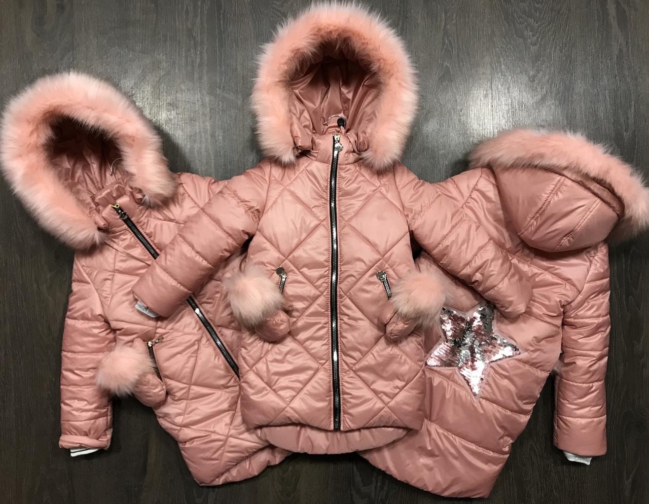 Очень нежная курточка-пальто на девочку.