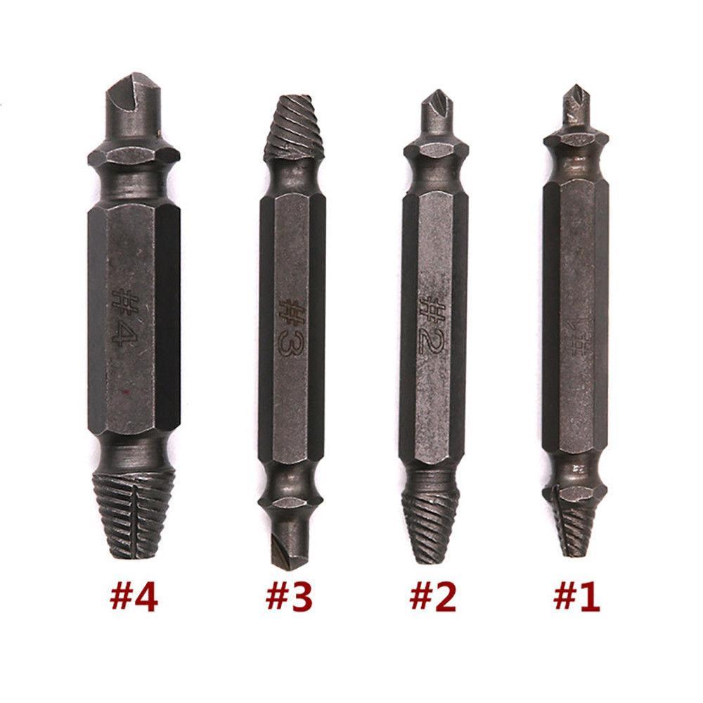 Комплект битов экстракторов для поврежденных шурупов и болтов