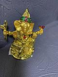 Фігурки з полімерів Ганеша, фото 2