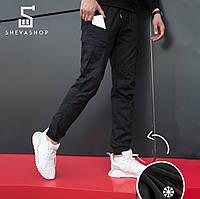 54774b82415 Теплые брюки карго мужские Pobedov Multi Pockets