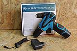 Шуруповерт аккумуляторный KRAISSMANN 1500 ABS 12/1 Li, фото 2