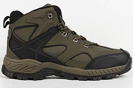 Ботинки кроссовки мужские мех хаки Bona Размеры 41 44 45 46
