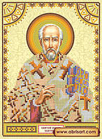 Схема для вышивки бисером иконы ACK-013 Святой Иоанн (Иван) АбрисАрт