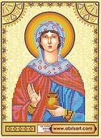 Схема для вышивки бисером иконы ACK-088 Святая Иоанна (Жанна, Яна) АбрисАрт