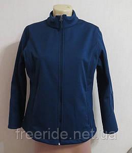 Cофтшелл женский на флисе (как L) куртка на флисе