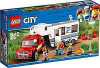 Детский конструктор LEGO City Пикап и фургон 344 детали (60182) , фото 1