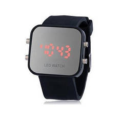 """Стильные спортивные силиконовые часы браслет""""LED Watch"""""""