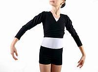 Шорты для танцев и гимнастики детские Dance&Sport N 300 черные, хлопок