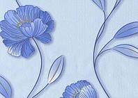 Шпалери паперові Ексклюзив 031-02 блакитний, фото 1