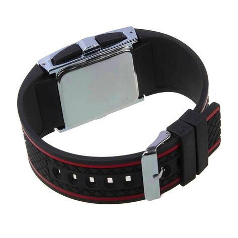 """Стильные спортивные силиконовые часы браслет""""LED Watch"""", фото 2"""