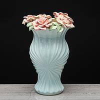 """Настольная ваза для цветов или декора . Ваза """"Гармония"""" лепка"""