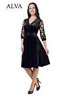 Нарядное платье с бархат.Разные цвета