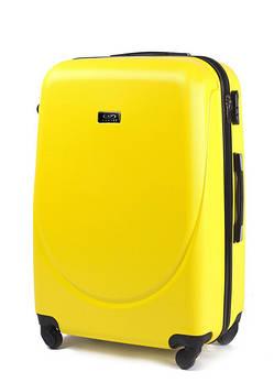 Пластикові валізи wings 310 на 4 колесах