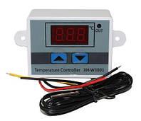 Терморегулятор XH-W3001 с датчиком температуры. Цифровой контроллер температуры (220V-1500W)