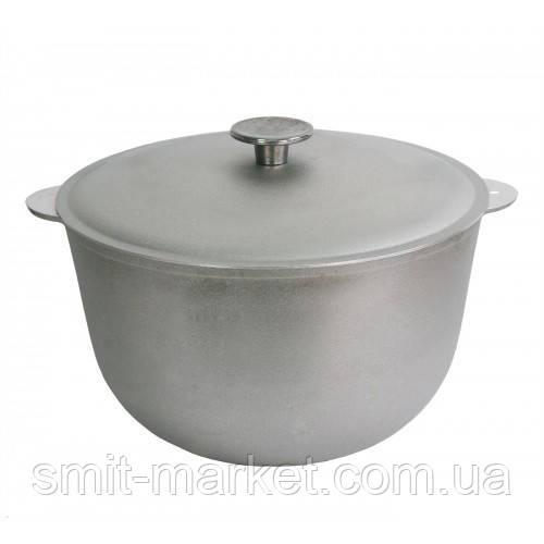 Казан алюминиевый литой Биол с крышкой 25 л (К2500)