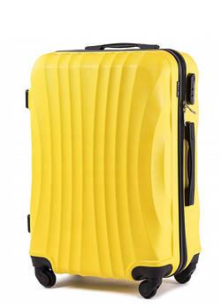 Пластикові валізи wings 159 на 4 колесах