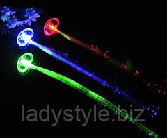 """Необычное украшение  для волос  """"Светлячок"""" от LadyStyle.Biz"""