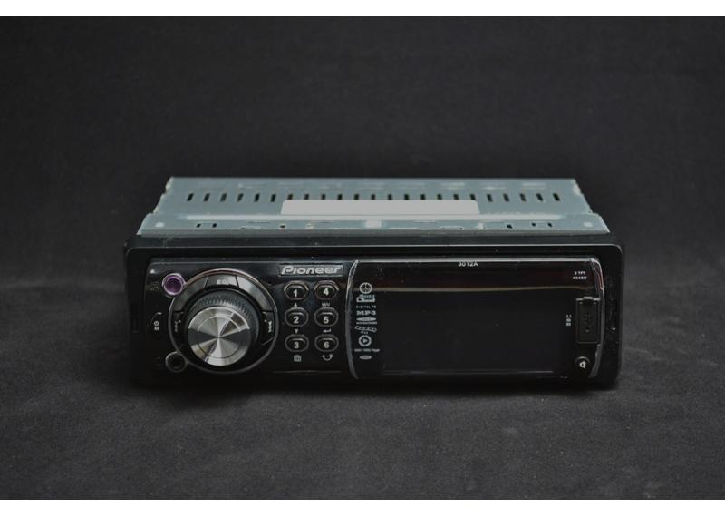 Автомагнитола Pioneer 3012А Video экран LCD 3'' USB+SD с диском магнитола в машину