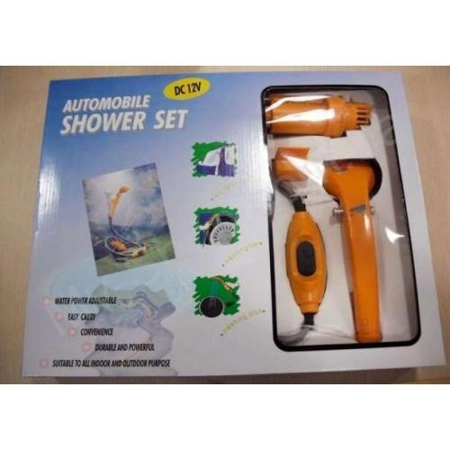 Авто-душ портативный Automobile Shower Set автомобильный душ от прикуривателя