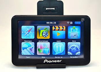 Многофункциональный автомобильный GPS навигатор Pioneer 556 портативный навигатор Navitel 3.2.6