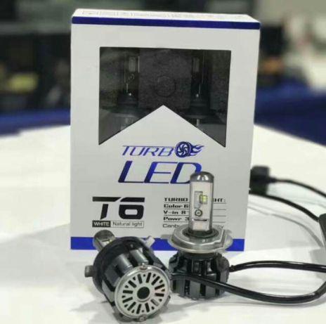 Комплект светодиодных авто ламп TurboLed T6 H135W 6000Lm