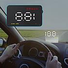 Проектор Скорости на лобовое стекло HUD A1000 автомобильный, фото 3