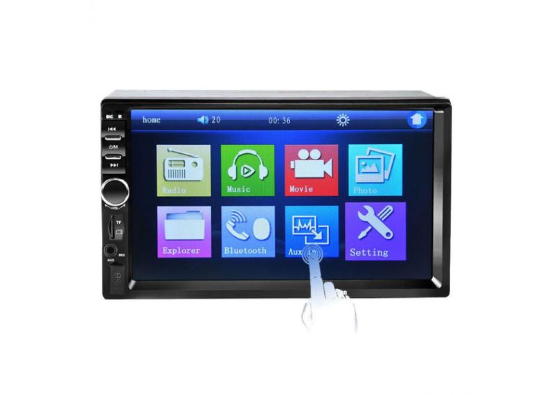 """Автомагнитола 7012В USB сенсорная 7"""" экран 2DIN 7012В GPS"""