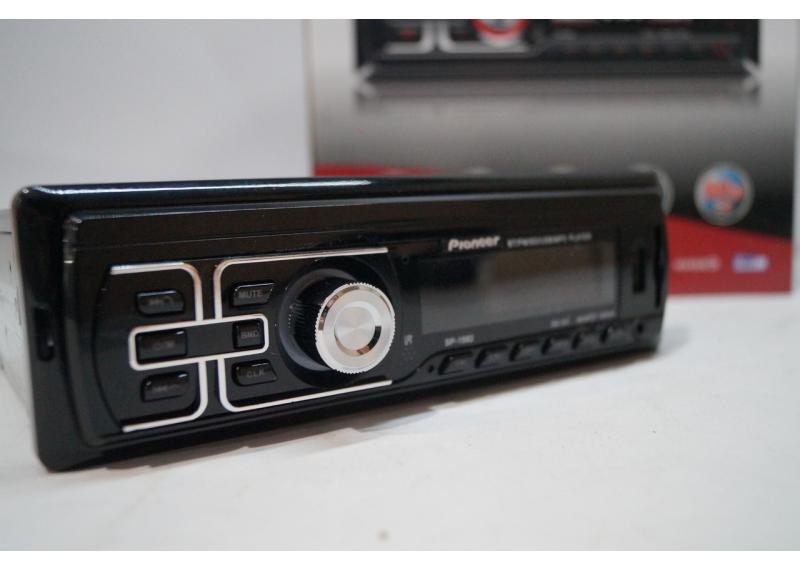 Автомагнитола с Bluetooth SP-1582 SD/MMC слот 2 флэшки несъемная панель