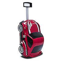 Чемодан на колёсах машинка Toyota  86 Racing красный, «Ridaz» (91005W-Racing)
