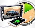 """Мультимедийная магнитола с диагональю 6,6"""" 2Din Pioneer 7651D читает видео + пульт на руль+ камера!, фото 3"""