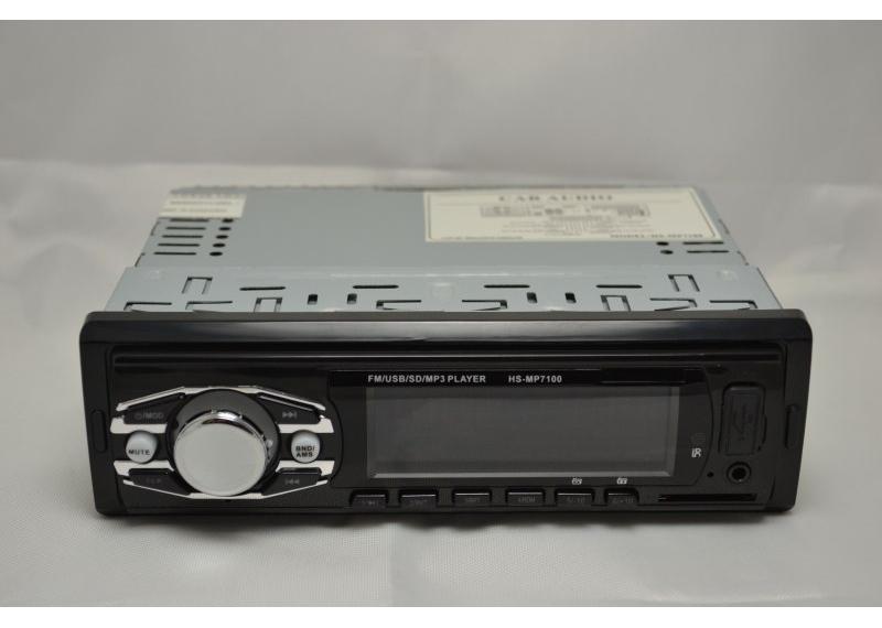 Автомагнитола HS-MP7100 c LED-индикаторным дисплеем  с тюнером тв магнитола