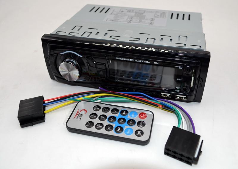 Автомагнитола  1134 (1 USB с возможностью зарядки) магнитола 1 дин