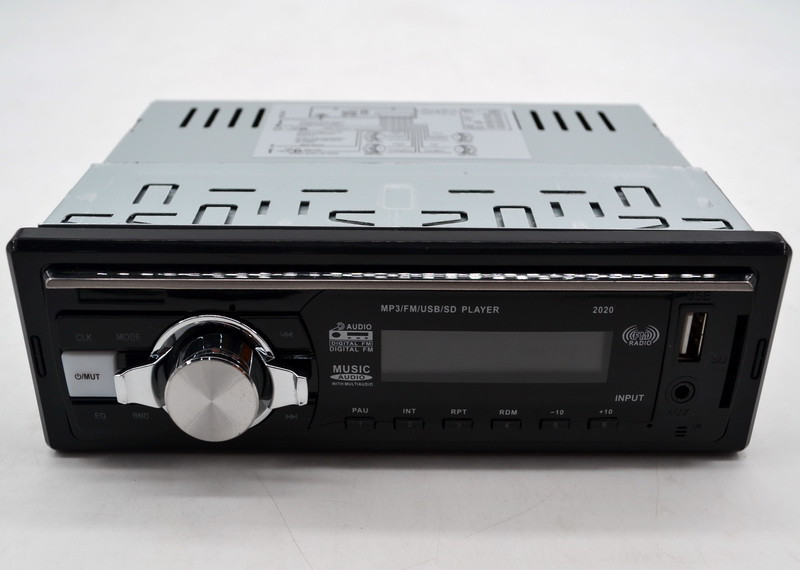 Автомагнитола 2020 MP3+FM+USB+SD+AUX удобная стандартная бюджетная магнитола
