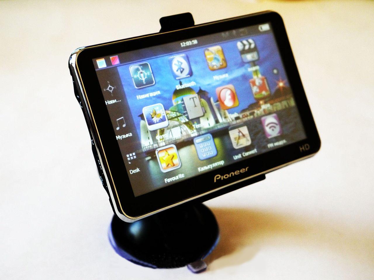"""FM-трансмиттер автомобильный Навигатор GPS Pioneer PI-5911 5"""" Bluetooth популярный автонавигатор"""