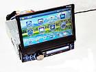 1din Магнитола  PI-903 GPS+TV  с навигационной системой GPS с программным обеспечением IGO 8, выдвижным, фото 2