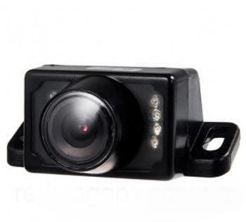 Камера заднего вида E220 автомобильная универсальная с ИК подсветкой наружная