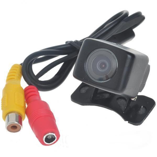 Камера заднего вида E361 универсальная видеокамера угол обзора 140 градусов водонипроницаемая
