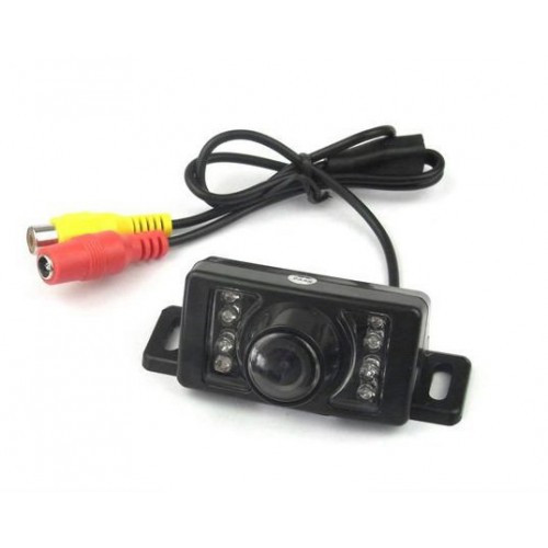 Автомобильная видеокамера заднего вида E350 ночное видение для парковки ик-подсветка